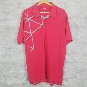 Pink adidas adizero Large Polo Golf